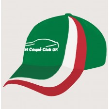 Fiat Coupe Club Limited Edition Italian Flag Cap