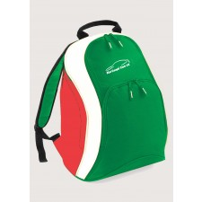 Fiat Coupe Club Italian Flag Backpack